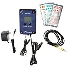 Hanna Instruments HI991405-01 GroCheck High Range pH/EC/TDS/Temperature Monitor, 115V