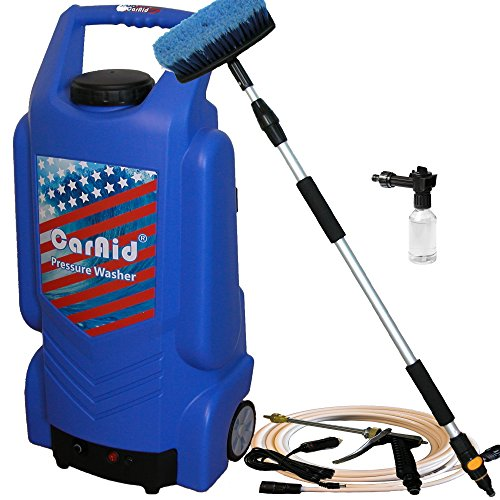 CarAid 9906 portable Pressure Washer with large water tank (Portable Washer Water compare prices)