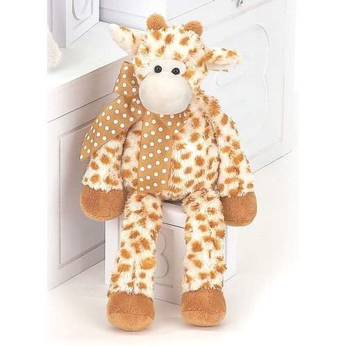 "Lean Beans Stretch Giraffe 14"" by Bearington"
