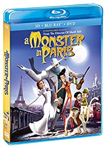 A Monster In Paris (Blu-Ray + 3-D Blu-Ray + DVD) by Shout! Factory