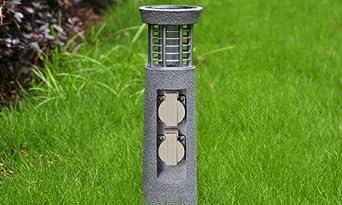 Gartenstrahler steinoptik
