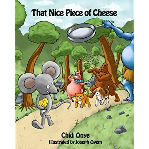 That Nice Piece of Cheese picture book