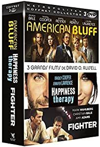 3 grands films de David O. Russell : American Bluff + Happiness Therapy + Fighter