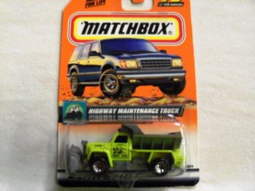 Matchbox 2000 Highway Maintenance Truck #79 of 100 by Mattel - 1