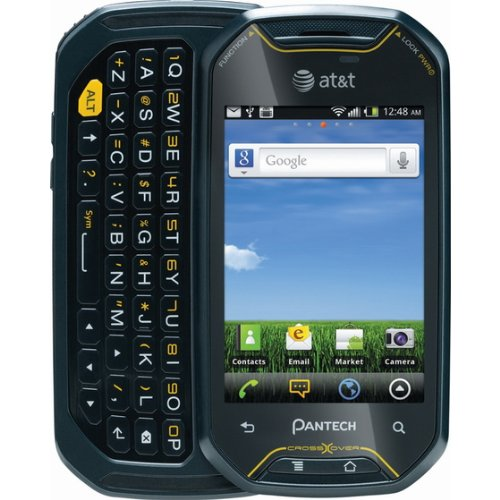Pantech P8000 Crossover Adventure Phone Identical to Moon Bannik Unlocked GSM 3G for ATT Touchscreen Plus QWERTY Android 22 Froyo 3MP Camera - WIFI - GPS