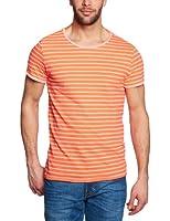 Scotch & Soda Herren T-Shirt 13010251159 - Fresh coloured yarn dye stripe serie
