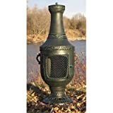 Venetian Style Chiminea Finish: Antique Green