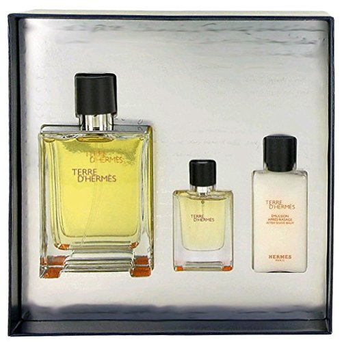 TERRE-DHERMES-by-Hermes-Gift-Set-for-MEN-Eau-De-Toilette-34-Oz-After-Shave-Balm-135-Oz-Eau-De-Toilette-Spray-042-oz