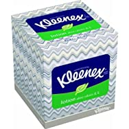 KLEENEX Lotion Facial Tissue, 3-Ply, 75 Sheets per Box