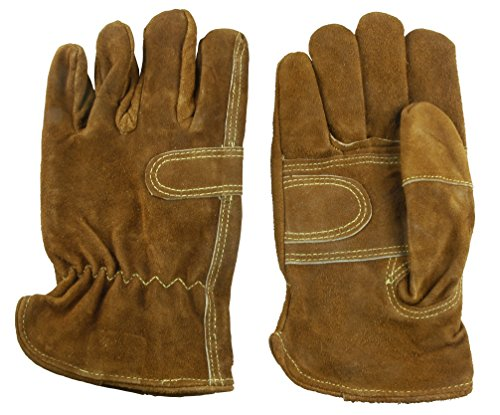 Hot Max 25106 Leather Fence Glove, Men's Large (Hot Fence compare prices)