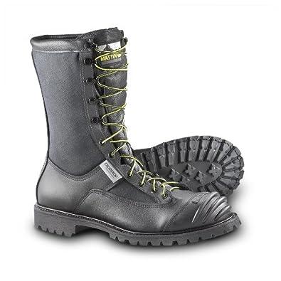Men's Matterhorn 10 inch Rescue Boots Black, BLACK, 7.5M