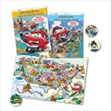 Kid's Fun Places U.S. Sticker Atlas (Little Passenger)