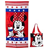 Disney's Minnie Mouse 2-pc. Beach Towel & Tote Set