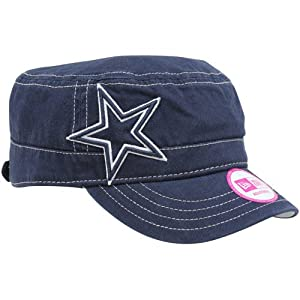 Nfl new era dallas cowboys ladies chic cadet for Dallas cowboys fishing hat