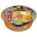 東洋水産 マルちゃん 日本うまいもん 青森味噌カレーミルクラーメン 131g(めん70g) 12個入 1ケース