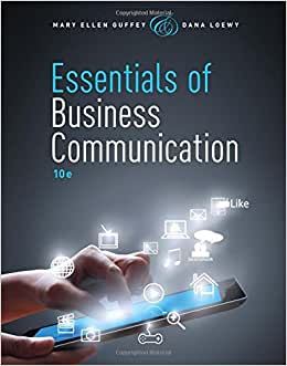 Download Essentials of Business Communication (with Premium Website, 1 term (6 months) Printed Access Card)