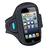 Sport Armband for iPhone 5 / 5s / 5c with slim cases, Motorola Droid Mini and moreby Tune Belt