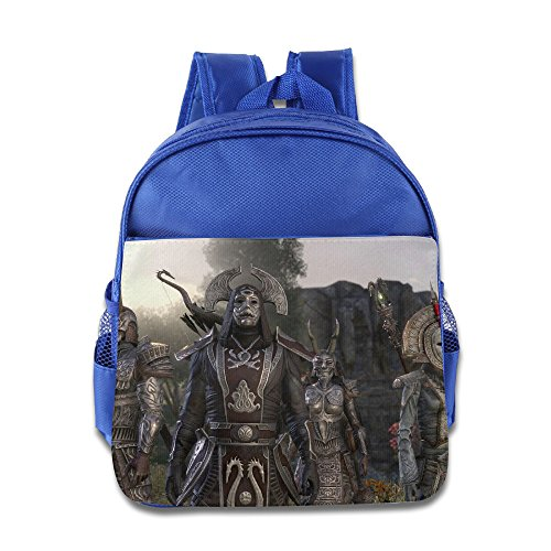XJBD Custom Superb The Elder Scrolls Online Tamriel Unlimited Kids Schoolbag For 1-6 Years Old RoyalBlue (Guardians Of The Galaxy Trailer compare prices)