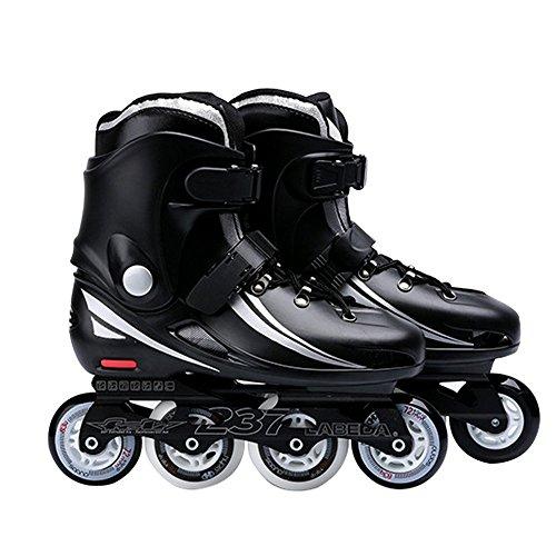 Vintage Rollerblades For Adults Professional Inline Roller Skates Unisex Black 39