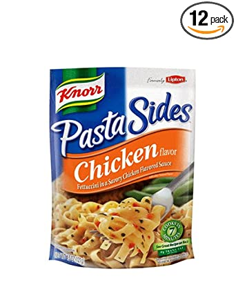 Knorr/Lipton Noodles & Sauce, Chicken, 4.3 Ounce Packages (Pack of 12)