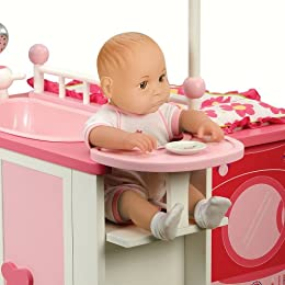 Battat Our Generation Baby Doll Care Center Wood New Ebay