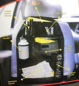 Back Seat Multi-Pocket Car Seat Organizer Auto Accessory