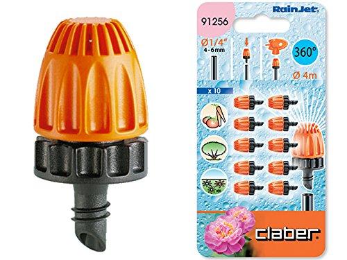 Claber 91256 Accessori Rainjet Goccia 10 Irrigatori 360