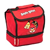 Angry Birds Lunch Bag School Lunch Bag - Red