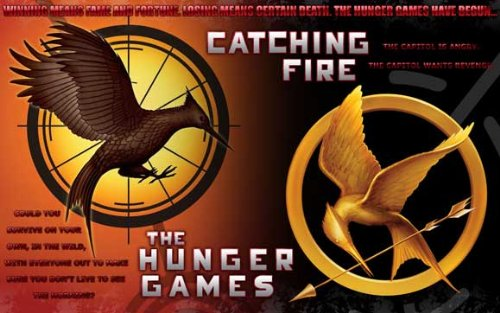 The Hunger Games - 17 x 11 Inch Movie Poster - Style K