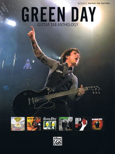 Green Day Guitar Tab Anthology Authentic Guitar Tab Edition Book (Authentic Guitar-Tab Editions)