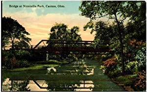photo reprint bridge at nimisilla park canton ohio prints posters prints. Black Bedroom Furniture Sets. Home Design Ideas