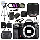 Pentax K-5 IIs 16.3 MP DSLR Camera with Pentax SMC DA 18-135mm F/3.5-5.6 ED AL (IF) DC WR Lens. Package Includes: 3 Pc HD Digital Filter Set + 16GB Memory + Extra Battery + Tripod + Mini HDMI & More!