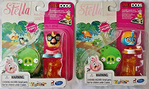 [Angry Birds Stella Bundle, Featuring Poppy and Willow] (Beyblade Halloween Costumes)