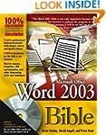 Word 2003 Bible