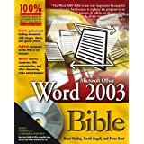 Word 2003 Bibleby David Angell