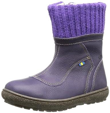 Kavat Idun Darkbrown 917328025, Unisex-Kinder Schlupfstiefel, Violett (lilac), EU 25