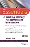img - for Essentials of Working Memory Assessment and Intervention (Essentials of Psychological Assessment) book / textbook / text book