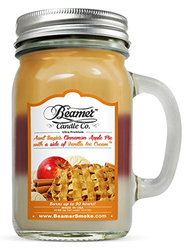 12Oz Aunt Suzie'S Apple Pie (3 Different Scents) Scented Beamer Candle Co. Ultra Premium Jar Candle. 90 Hr Burn Time. Usa Made