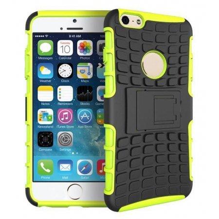 iphone6 / 6 plus 耐衝撃 コンポジット ケース / カバー アイフォン スマホ【AZEAL】  グリーン iphone 6 plus