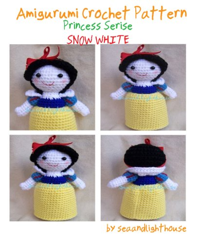 Snow White Princess Amigurumi Crochet Pattern
