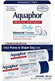 Aquaphor Baby Healing Ointment, Diaper Rash and Dry Skin Protectant, .35 Ounce Dual Pack