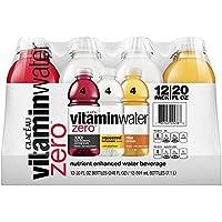 12-Pack Vitaminwater Zero Variety Pack, 20 fl oz