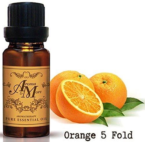 Orange 5 Fold Essential Oil 100% (Italy) (Citrus sinensis) (Citrus Scent) 100 ml (3 1/3 Fl Oz)-Health (Bush Flower Essences Kit compare prices)