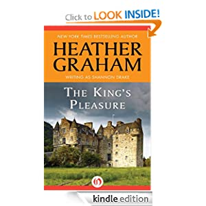 Kindle Book Bargains: The King's Pleasure, by Heather Graham. Publisher: Open Road (June 12, 2012)