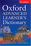 Oxford Advanced Learner's Dictionary 7th Edition Paperback with Compass CD-ROM