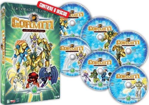 Gormiti Temp.2 Completa (6dvd) [Dvd] [2008]