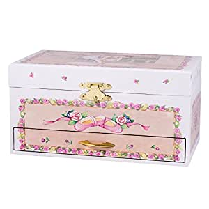 Childrens ballerina ballet musical jewelry for Amazon ballerina musical jewelry box