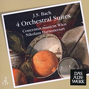 Bach Orchestral Suites 1-4 from Warner Classics