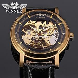 Amazon.com: LNTGO Wrg M G Winner Men Montre Mecanique Fashion Watches
