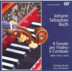 Sonata No. 2 for Violin and Harpsichord in A major, BWV 1015: IV. Presto